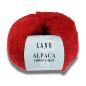 Alpaca superlight lamé  LANG YARNS